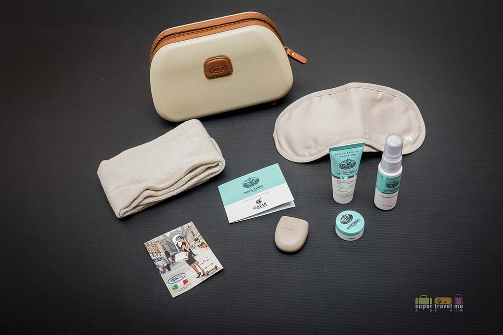 Qatar Airways BRIC Business Class Amenity Kits