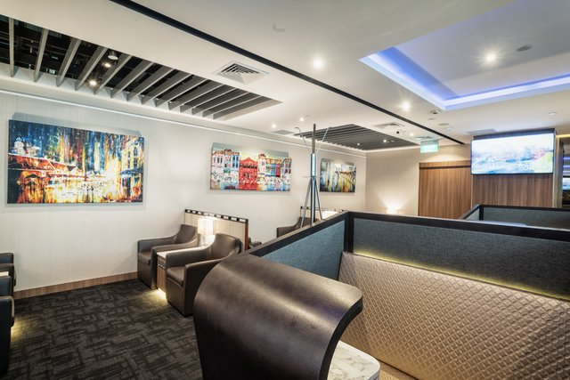 SATS Premier Lounge at Singapore Changi Airport T2 (Priority Pass photo)