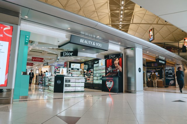 The Shilla Duty Free at Hong Kong International Airport at East Hall South