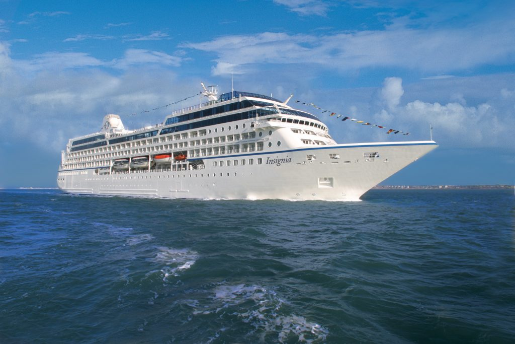 Insignia cruise liner (Oceania Cruises Photo)