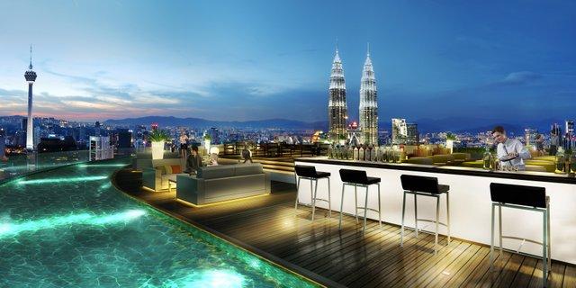 Sky Bar at Banyan Tree Kuala Lumpur