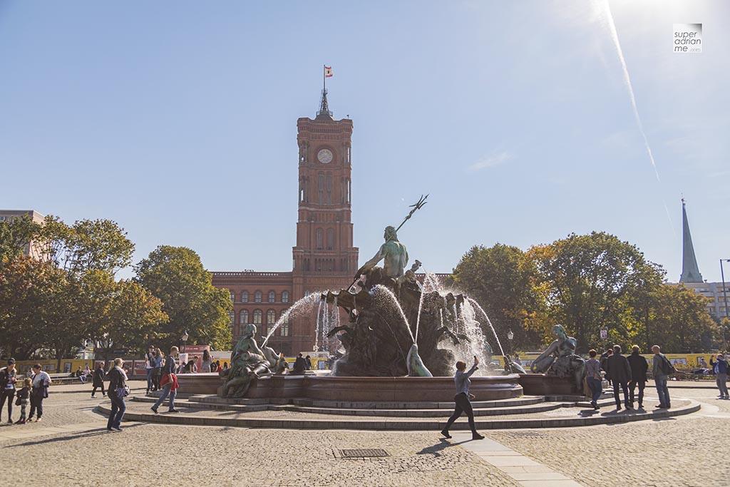 Berlin - Alexanderplatz - Neptunbrunnen Fountain 1G7A8390