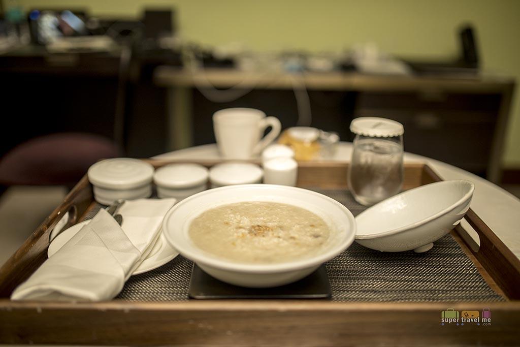 Le Méridien Seoul - In room dining - Porridge