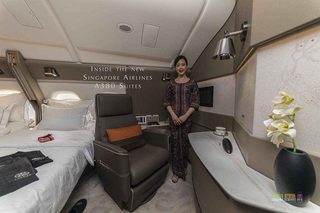 Inside the new Singapore Airlines A380 Suites 1G7A3602