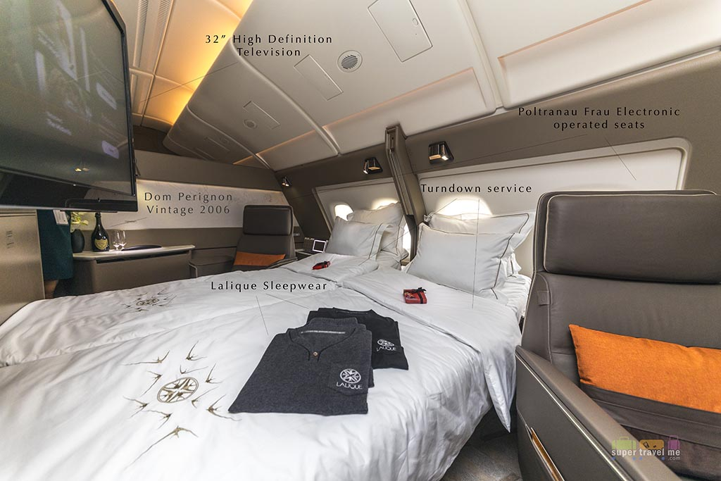 Singapore Airlines 2-in-1 suites