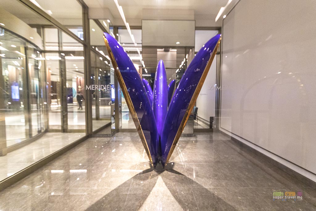 Triple Garden installation by Kim Byoung Ho at lobby of Le Meridien Seoul