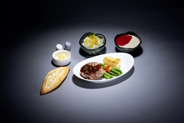 Lufthansa A la carte dining option
