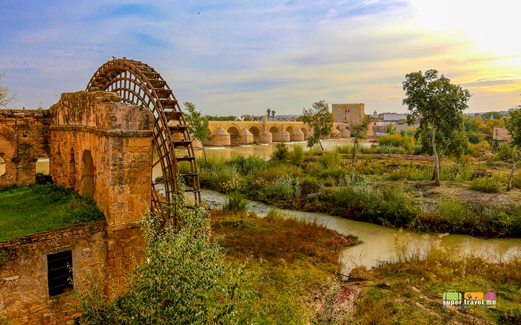 Córdoba stands against Sierra Morena mountain range in Spain and is listed as a World Heritage Site offering rich history and many monuments.
