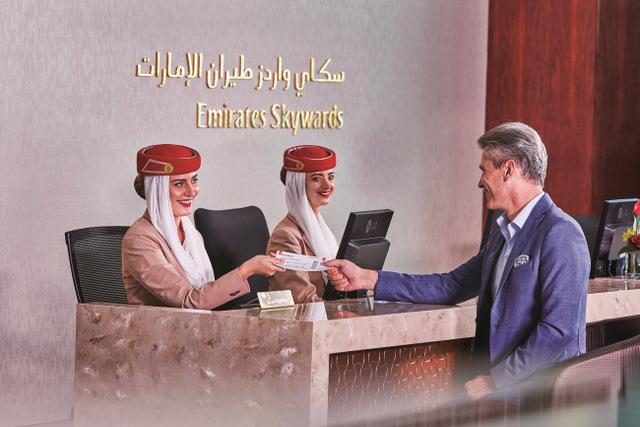 Emirates Skywards (Emirates photo)