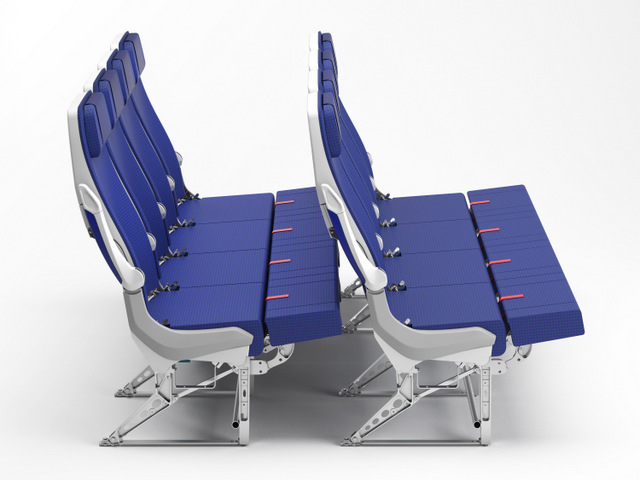 ANA COUCHii Seats on the new A380s