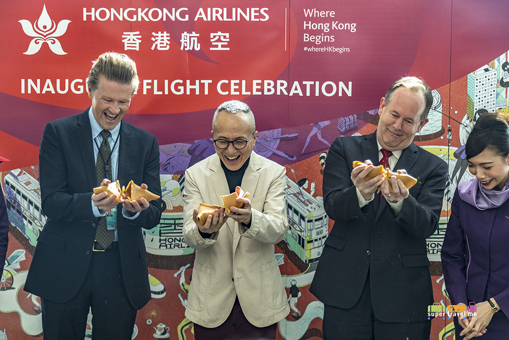 Hong Kong Airlines launched San Francisco - Hong Kong flights on 25 March 2018