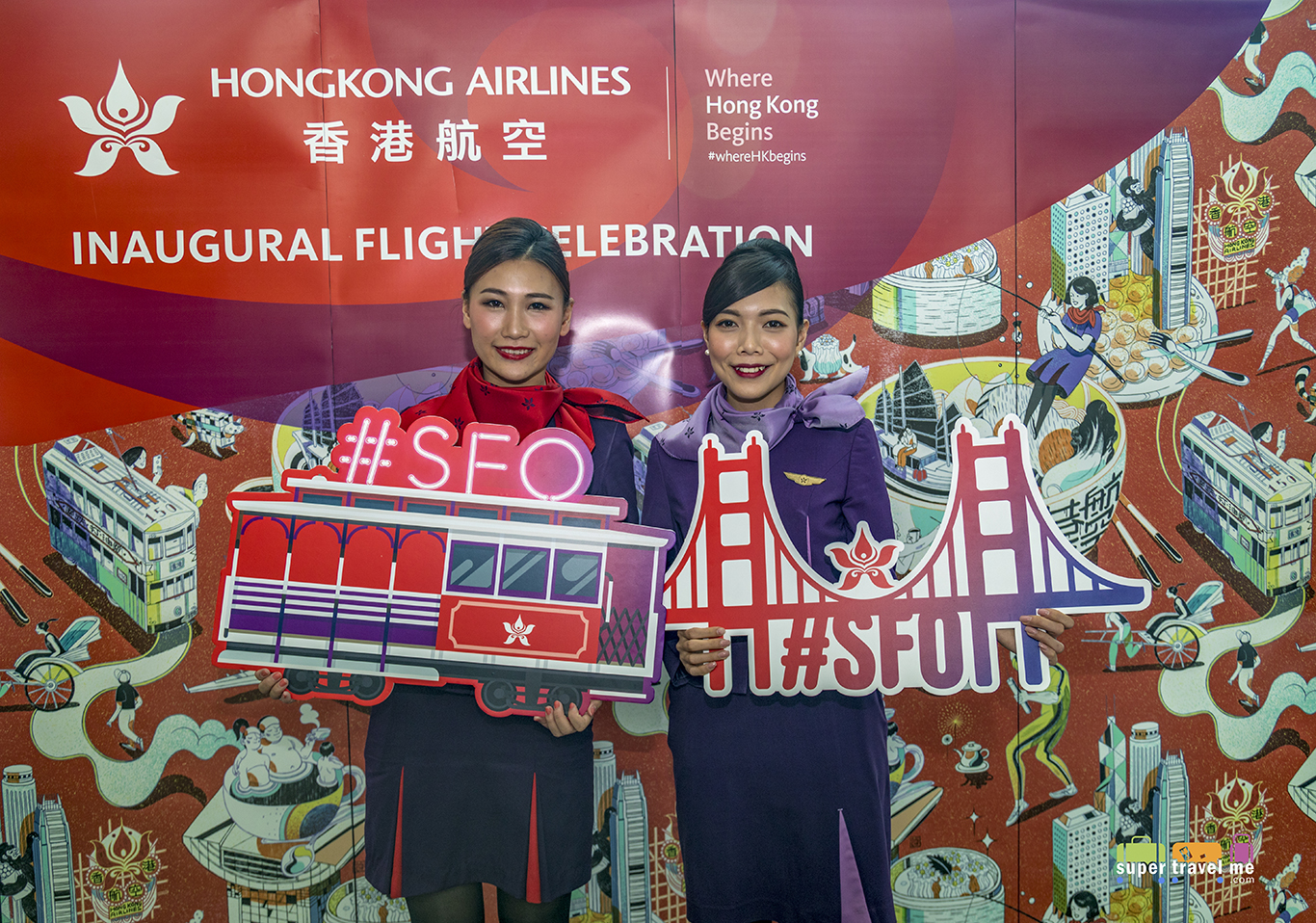 Hong Kong Airlines San Francisco - Hong Kong Inaugural Flight Celebrations 1G7A2992