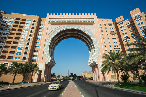 Movenpick Ibn Battuta Gate Hotel in Dubai. NOV 2, 2013 in Dubai, United Arab Emirates (Photo credit: Zhukov Oleg / Shutterstock.com)