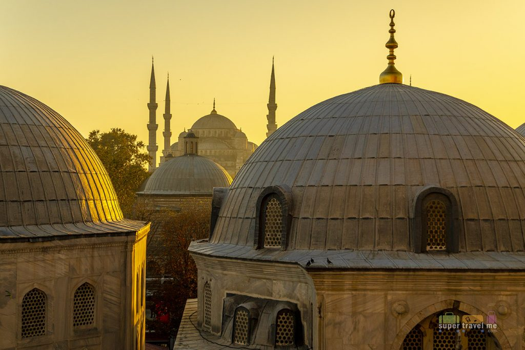 Visit the Blue Mosque