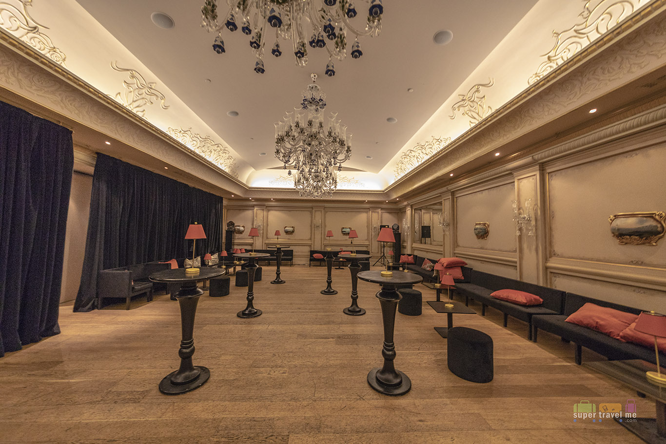 Event room at Hotel Les Ottomans