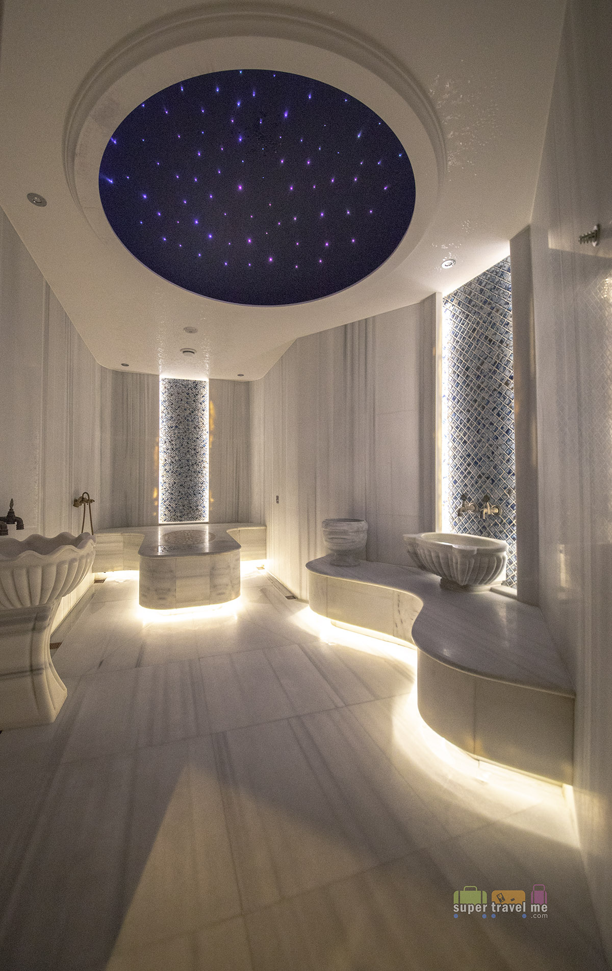 Private Turkish Bath at Caudalie Vinotherapie Spa