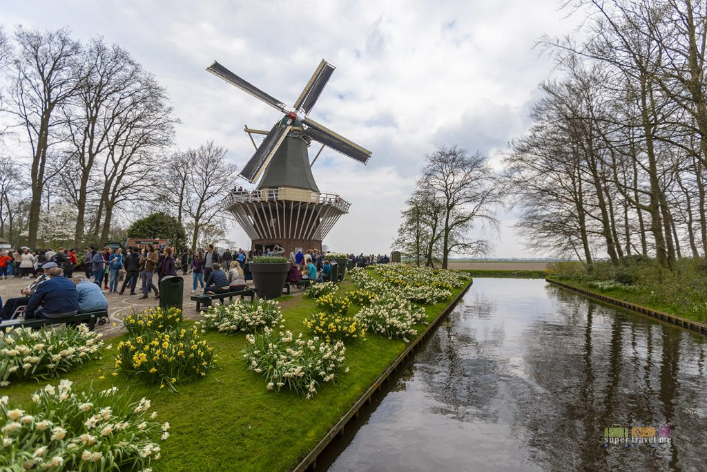 Keunkenhof Gardens in in Lisse, South Holland, Netherlands