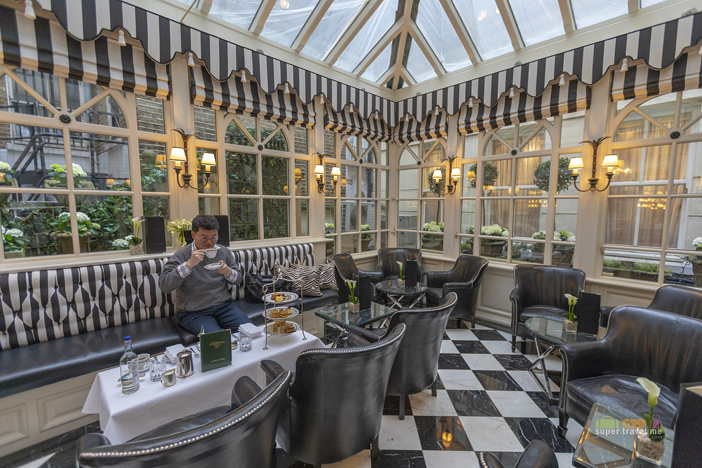 Have afternoon tea at The Milestone Hotel in London