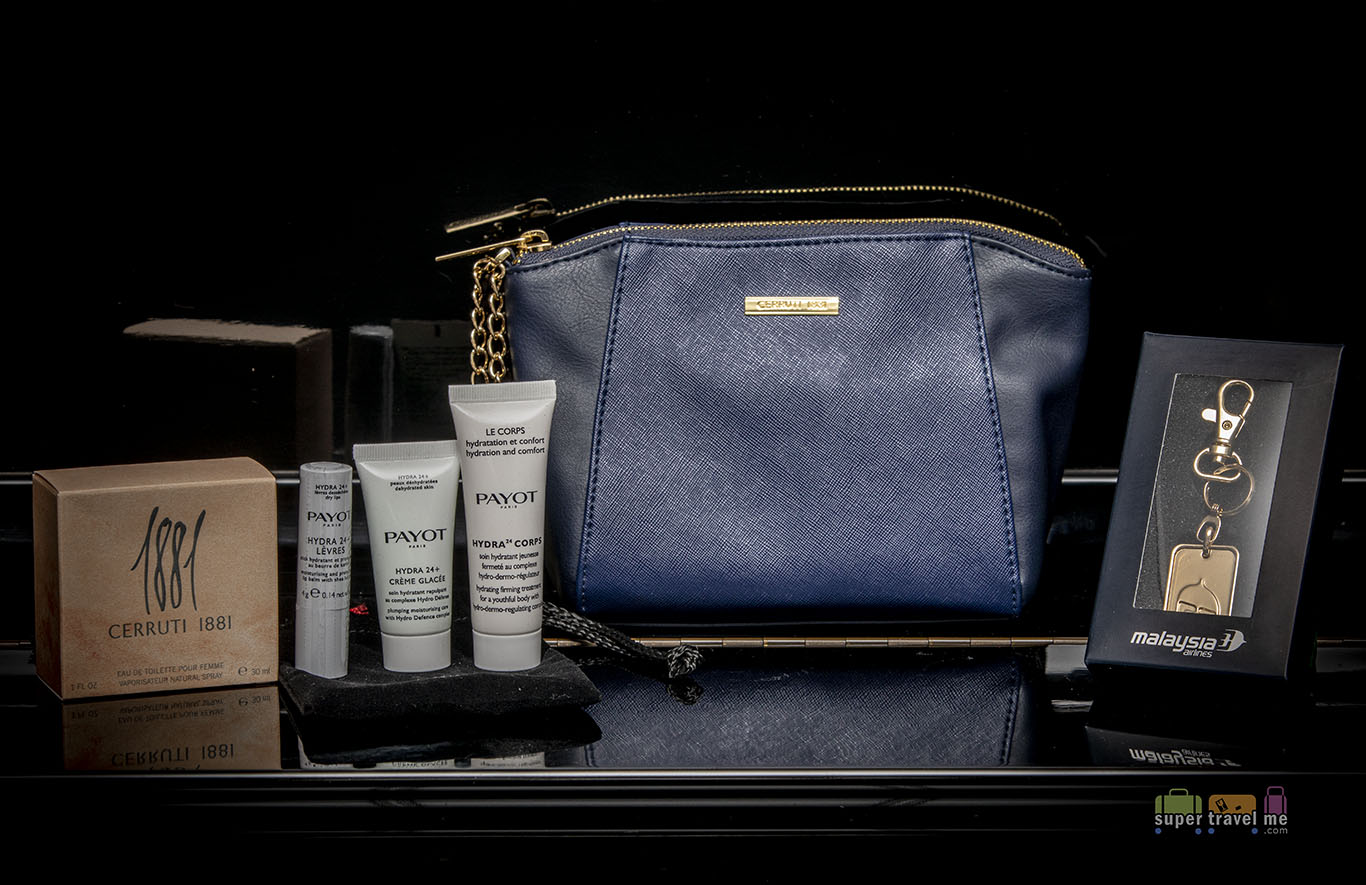 Malaysia Airlines First Class Amenity Kit for women