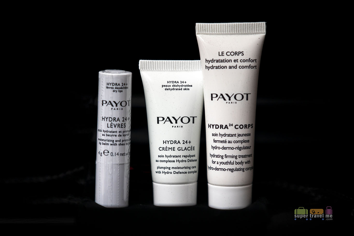 Payot Amenities in Malaysia Airlines First Class Amenity Kits