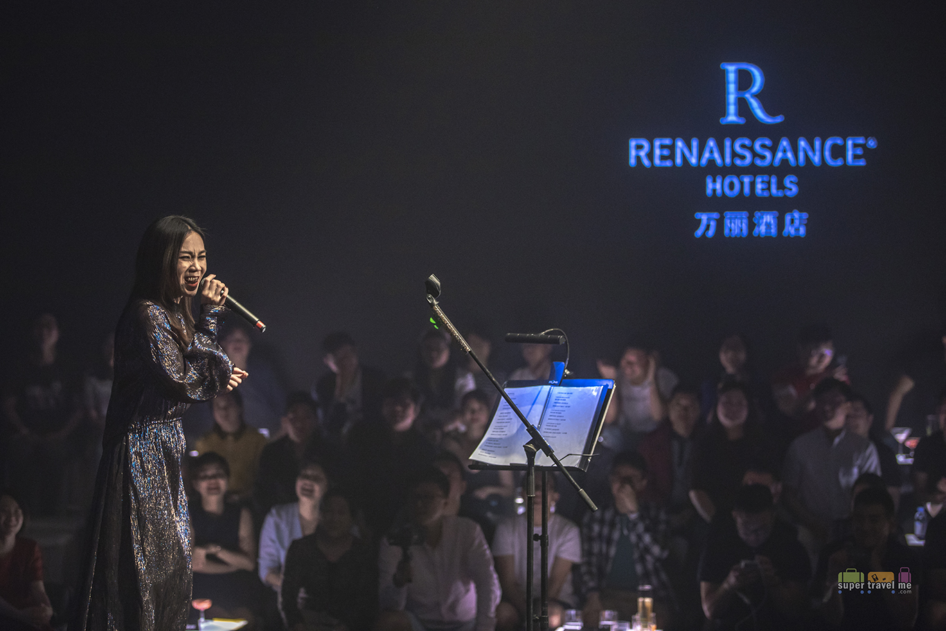 Tanya Chua showcase at Renaissance Suzhou Taihu Lake Hotel on 31 May 2018