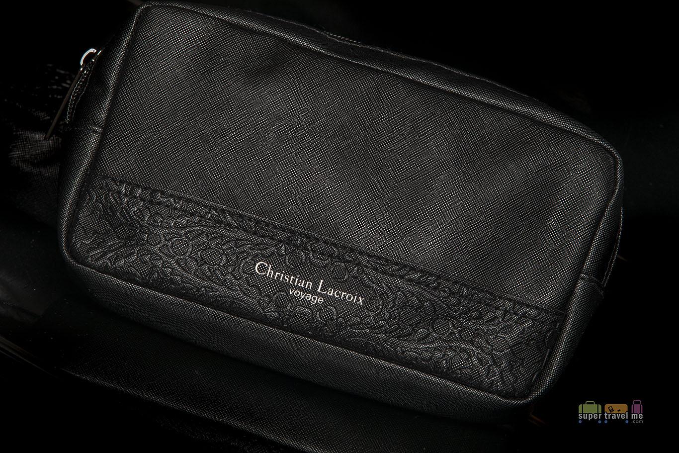 Turkish Airlines Christian Lacroix Voyage amenity kit bag 4318