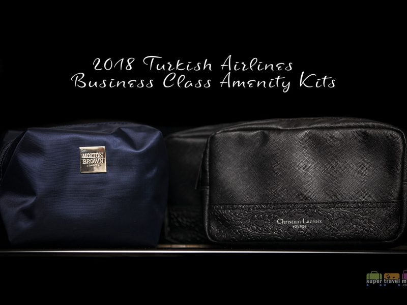 Turkish Airlines launched new Business Class amenity kits in April 2018