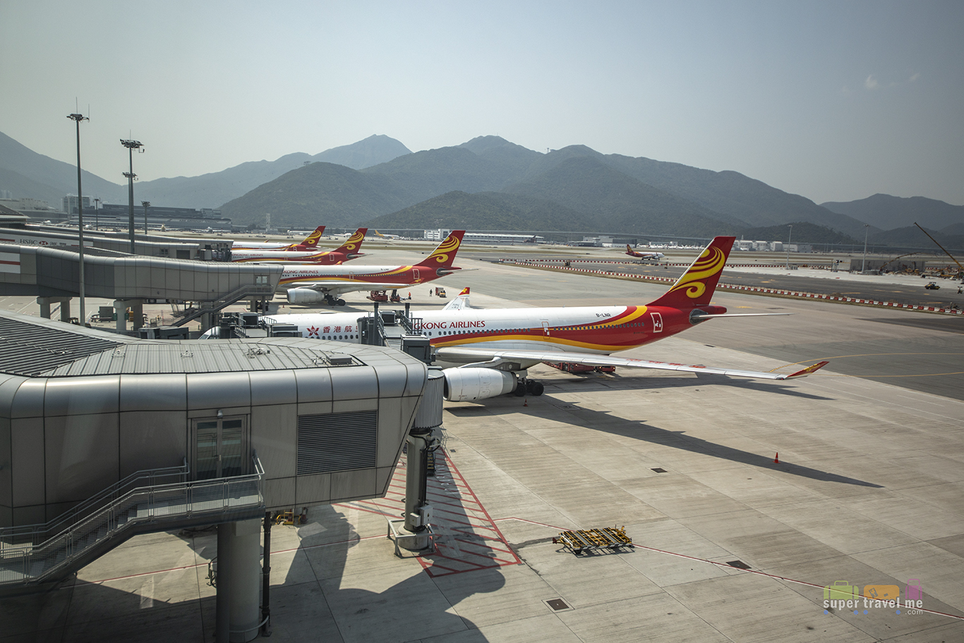 Hong Kong Airlines in Hong Kong International Airport
