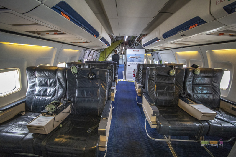 Board the Honeywell B757 and take your seats.