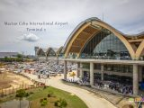 The exterior of Mactan Cebu International Airport Terminal 2