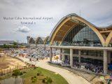The exterior of Mactan Cebu International Airport Terminal 2