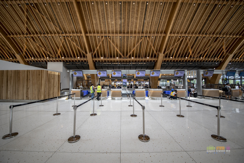 Check in counters at Mactan Cebu International Airport Terminal 2