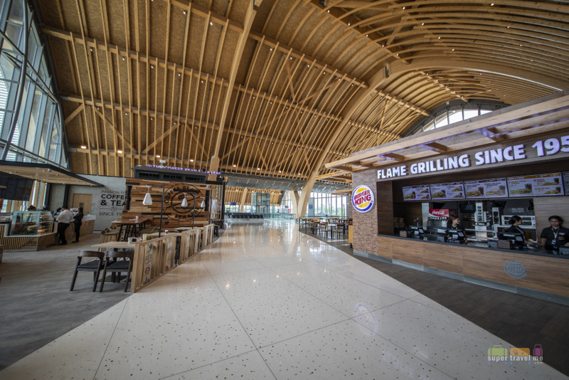 Fast food available at Mactan Cebu International Airport