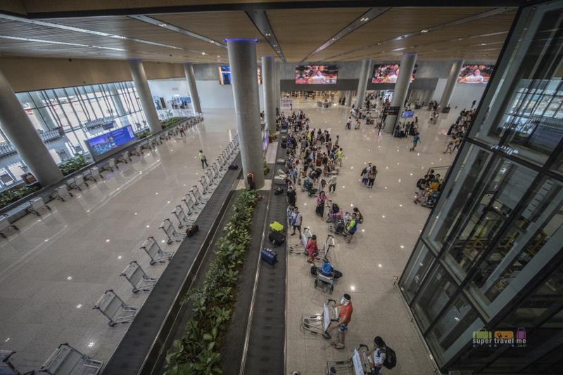 Baggage Carousel at Arrivals at Mactan Cebu International Airport