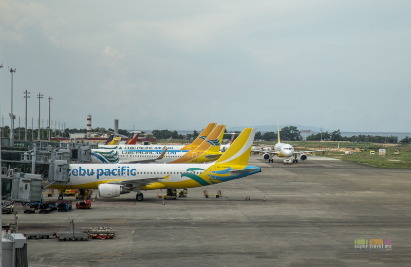 Cebu Pacific Aircraft parked at Cebu Mactan Airport