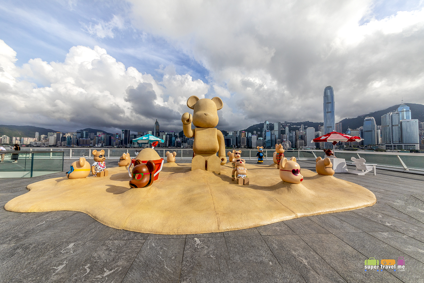 BE@RBRICK SUMMER CHILL at Harbour City till 5 August 2018