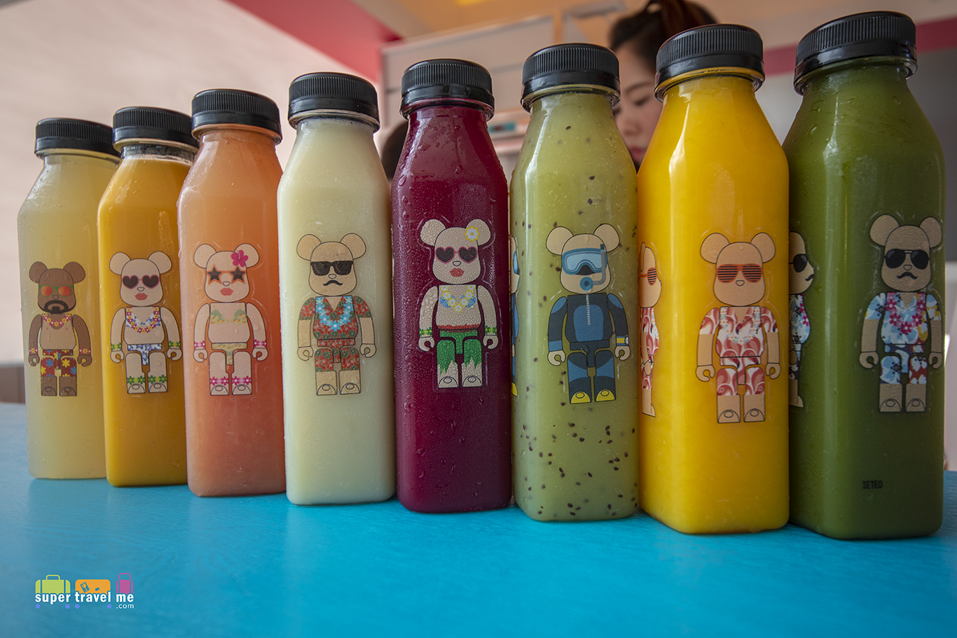 BE@RBRICK Fresh Juice (Price: HK$40)