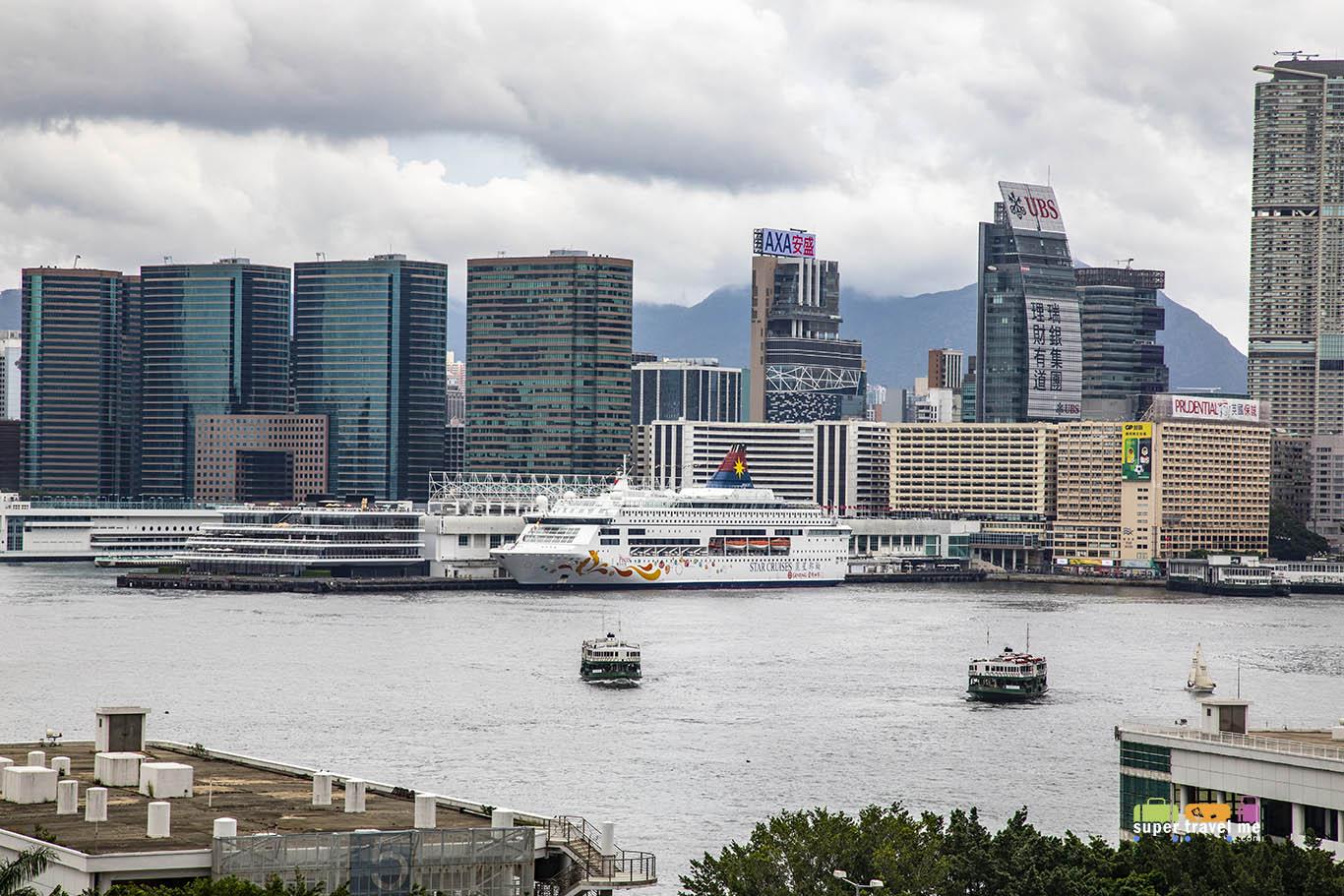 cbbc776c A view of Harbour City, the new Ocean Terminal Deck, Marco Polo Hongkong  Hotel