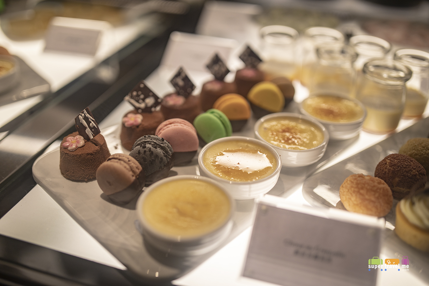 Dessert Bar at AeroBar at Plaza Premium First Hong Kong