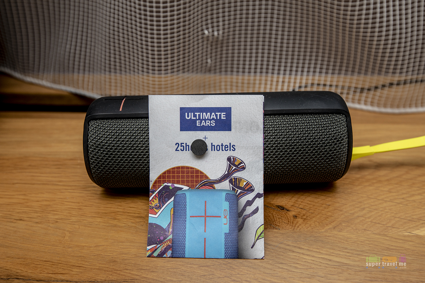 Bluetooth Speakers at 25hours Hotel Frankfurt The Goldman
