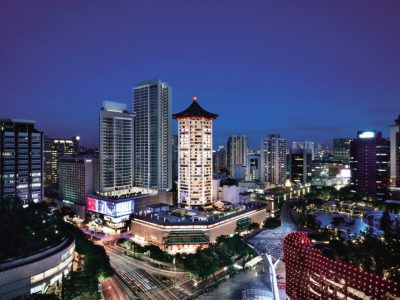 Singapore Marriott Tang Plaza Hotel – Facade (Singapore Marriott Tang Plaza Hotel Photo