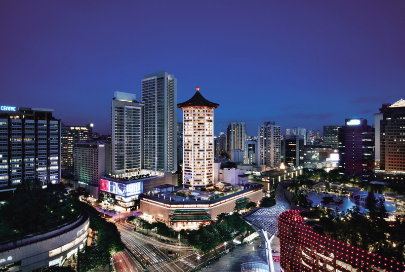 Singapore Marriott Tang Plaza Hotel – Facade (Singapore Marriott Tang Plaza Hotel Photo