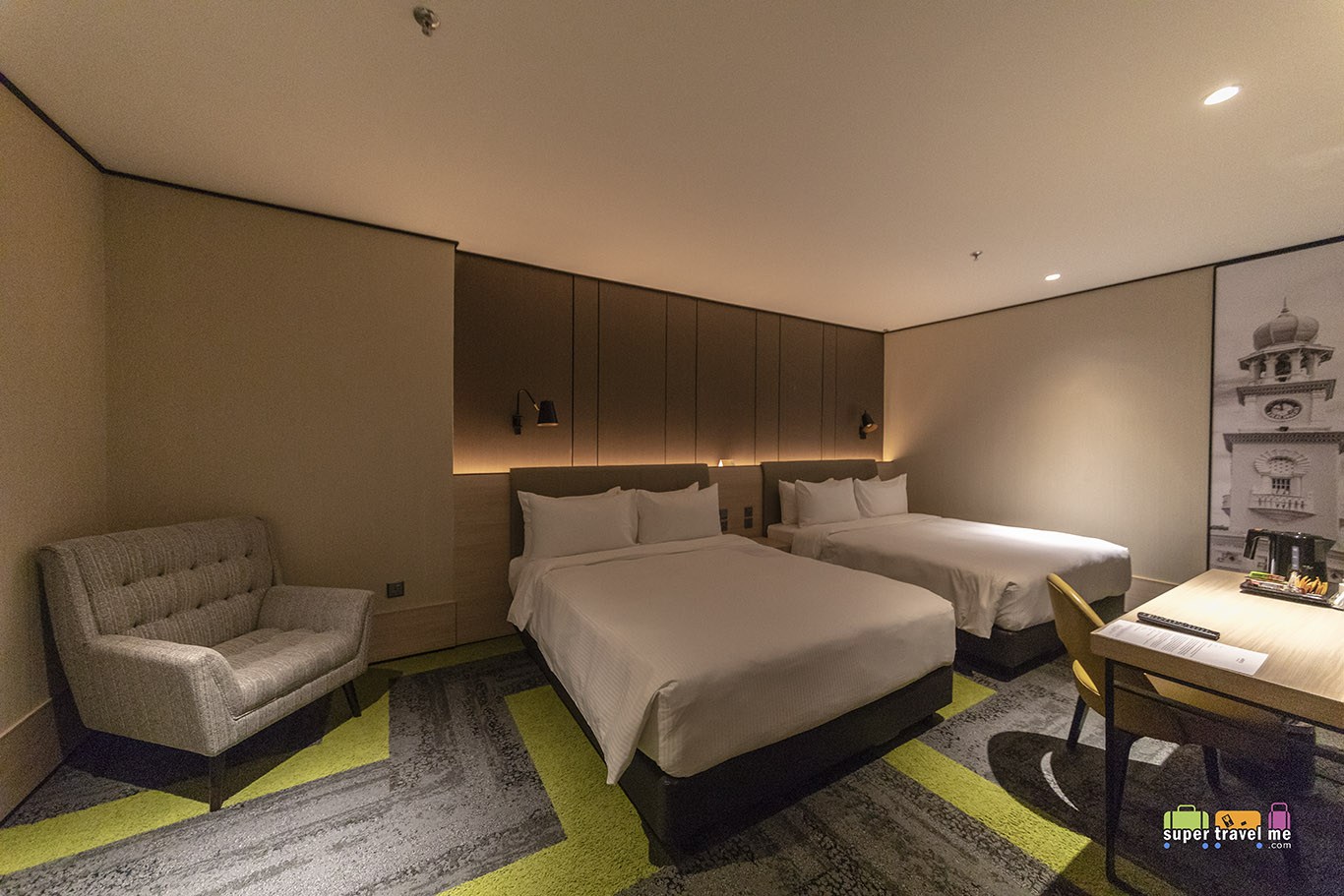 Aerotel Kuala Lumpur Double Squared Room with 2 double beds
