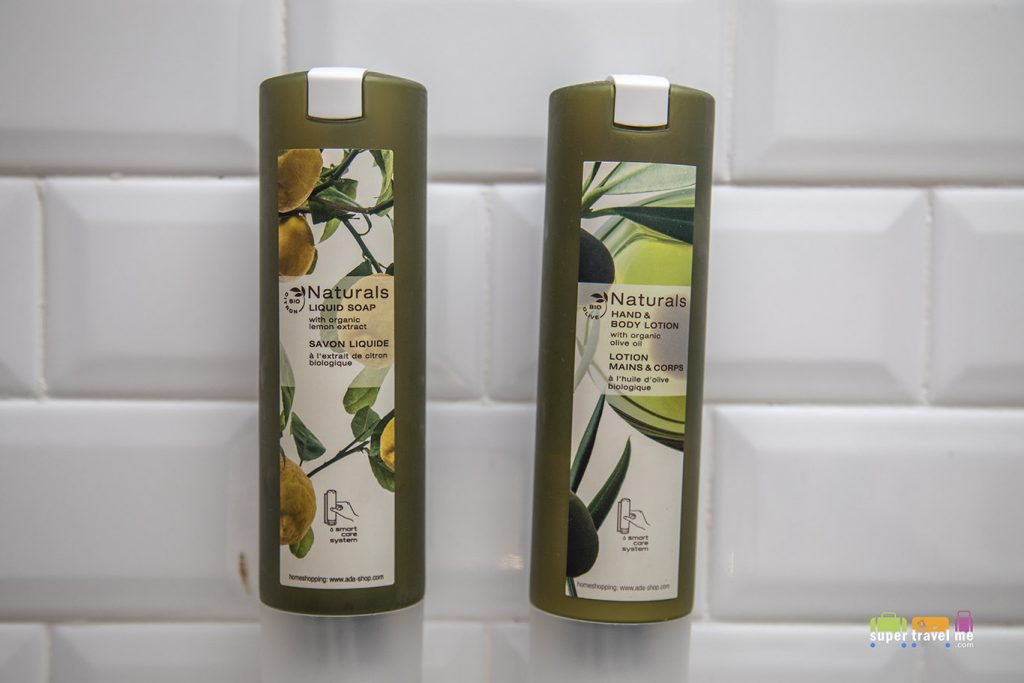 Aerotel Kuala Lumpur Naturals Liquid Soap Smart Care and Body Lotion Organic Olive 300ml