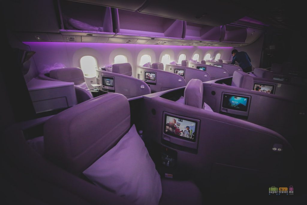 Air New Zealand Business Class 2304