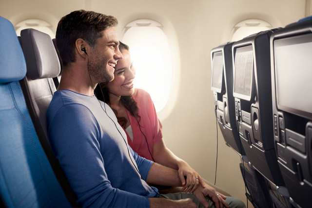 Singapore Airlines Thales AVANT in-flight entertainment system in Economy Class (SIA Photo)