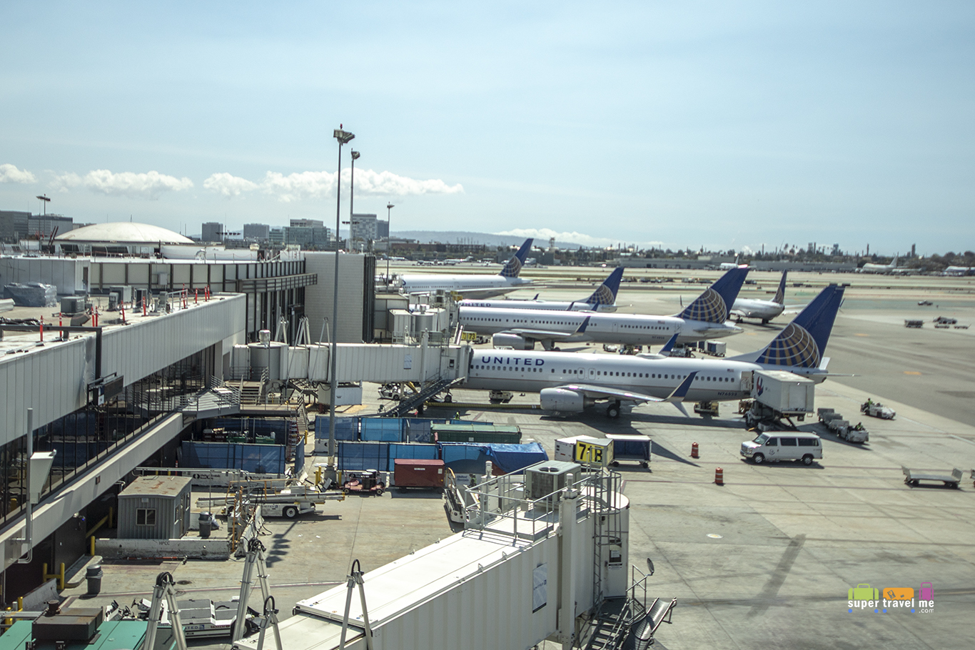 United Airlines Aircraft at LAX 2018