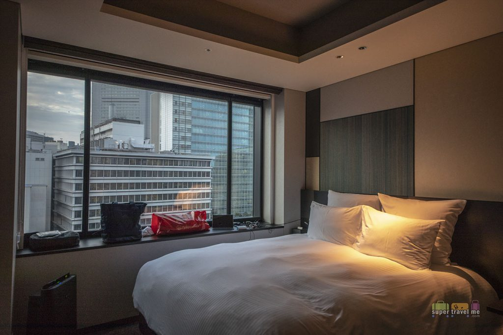 Tailor-made Pullman bed from Takumi Otsuka at Pullman Tokyo Tamachi