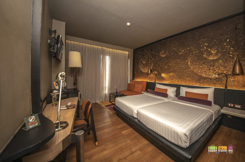 Guest rooms at Siam@Siam