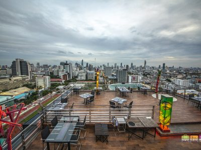 Rooftop Bar at Siam@Siam Design Hotel Bangkok
